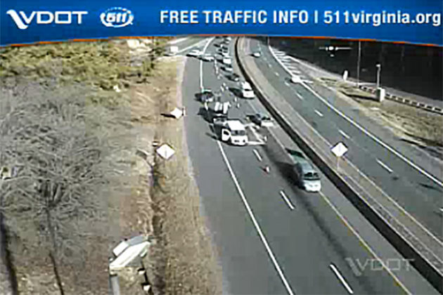 Accident on I-66 Causes Delays | ARLnow com