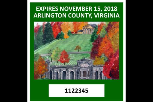 "2017 decal finalist: ""The Arlington House"""