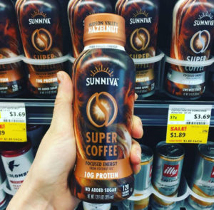 "Sunniva ""super coffee"" beverage"