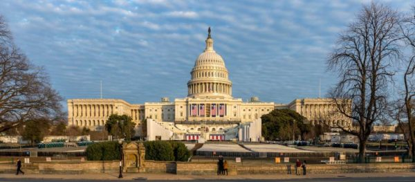 US Capitol prior to inauguration ceremony (Flickr pool photo by Brian Irwin)