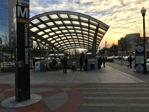 Clarendon Metro station