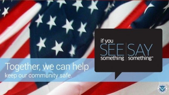 See Something, Say Something Ready Arlington