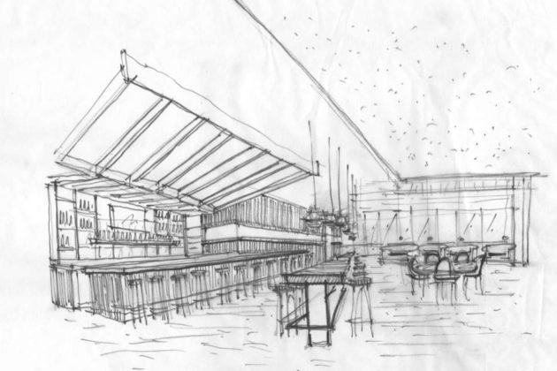 Design sketch via SAINT
