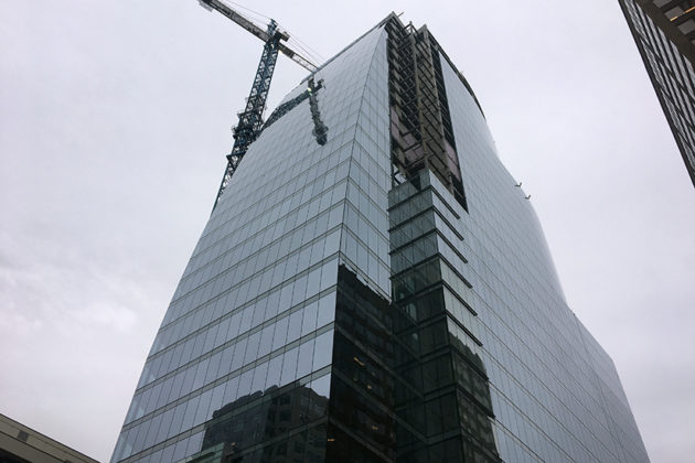 CEB Tower, slated to open early next year