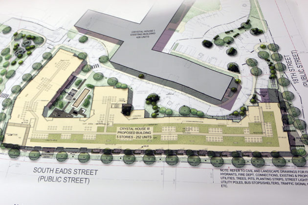From a preliminary site plan document