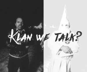 Klan We Talk promotional poster