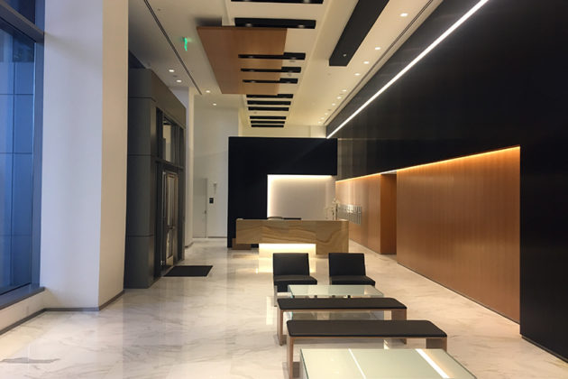 Inside the newly opened Central Place residential tower