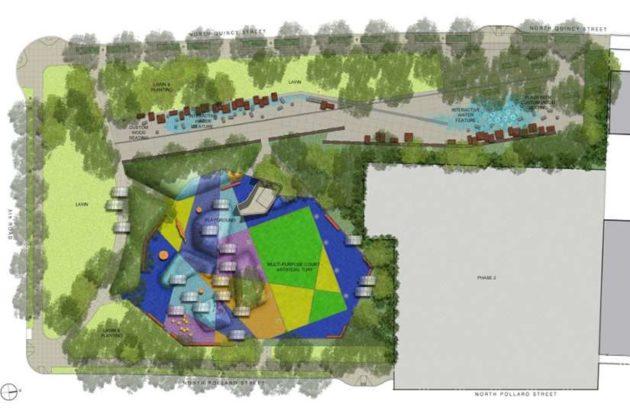 Mosaic Park design (via Arlington County)