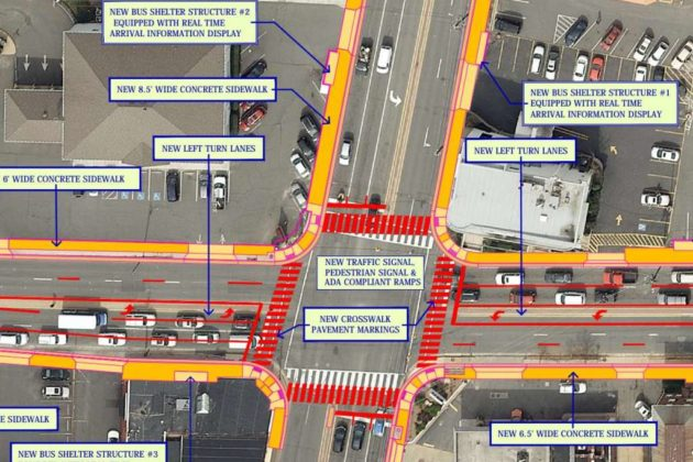 Lee Highway and N Glebe Road intersection design