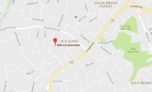 Map showing location of car break-ins