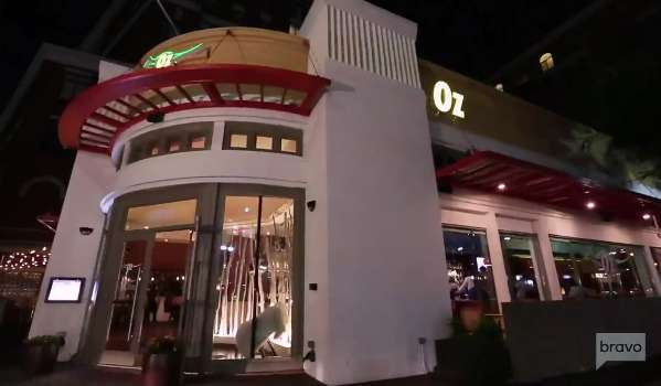 Oz restaurant as seen on Bravo's Real Housewives of Potomac