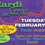 Whitlows mardi gras party