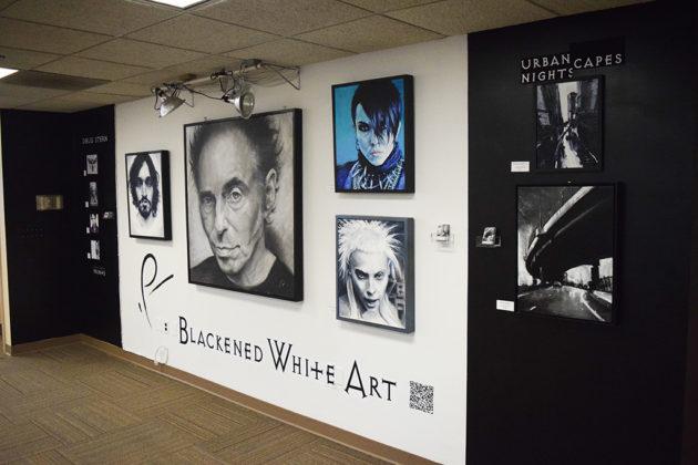 Doug Stern's haunting Blackened White Art