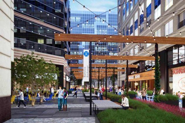 The Ballston Exchange will include ground-floor retail (Courtesy Jamestown LP)
