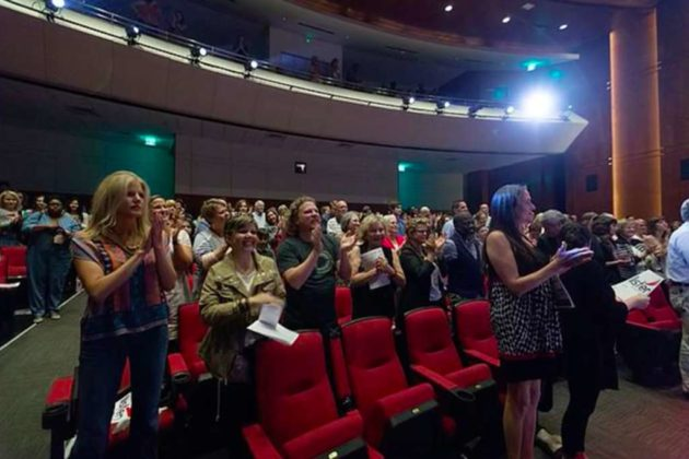 Audience members often say watching is a community experience (Courtesy LTYM)