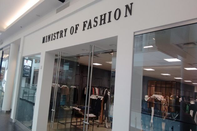 Ministry of Fashion has men's and women's apparel on the mall's first level
