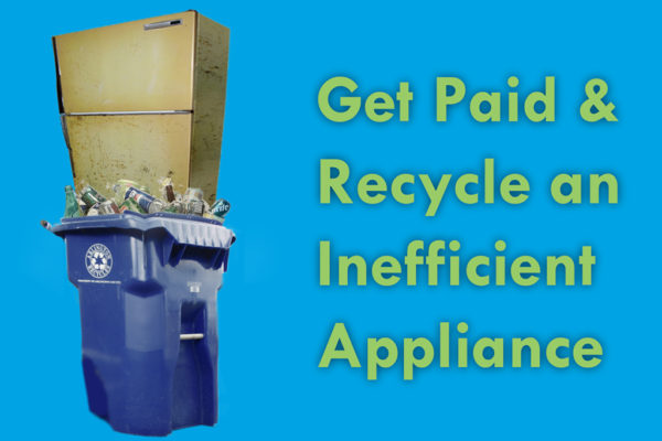 Rethink Energy fridge recycle get paid