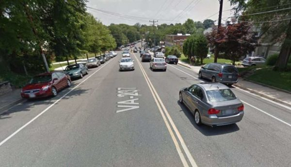 Washington Blvd just west of Westover (Photo via Google Maps)