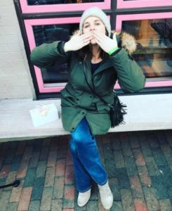 Sarah Fraser (photo via Instagram)