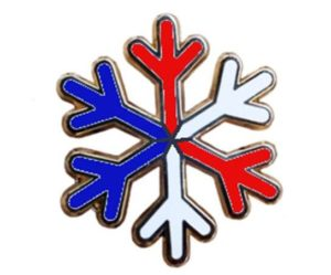 "USA ""snowflake"" pin"