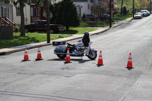 Police blocked 16th Street S. from S. Pollard Street
