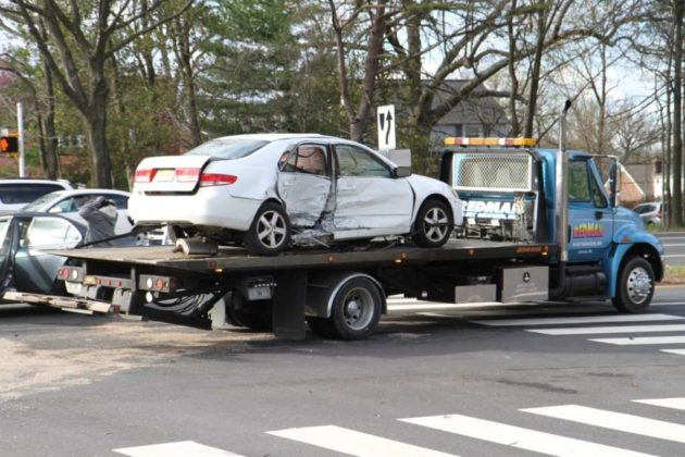 The accident happened at the intersection of Route 50 and N. Park Drive