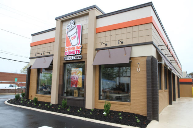 The new Dunkin' Donuts is open on N. Glebe Road