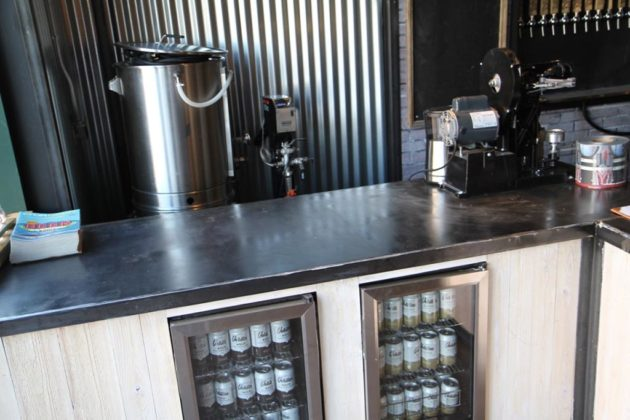 Veritas Coffee bar at Heritage Brewing