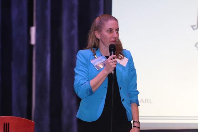 Democratic County Board candidate Kim Klingler