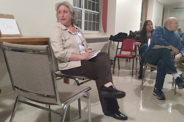 School Board candidate Maura McMahon discusses the future Reed Elementary School