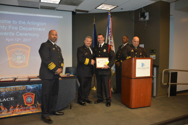 Medal of Valor-Gold award recipient firefighter/EMT Chad Eldridge