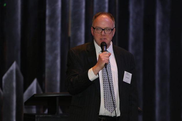 Democratic County Board candidate Peter Fallon