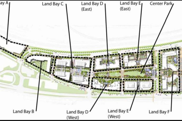 Land Bay C is one of several in Potomac Yard slated for redevelopment