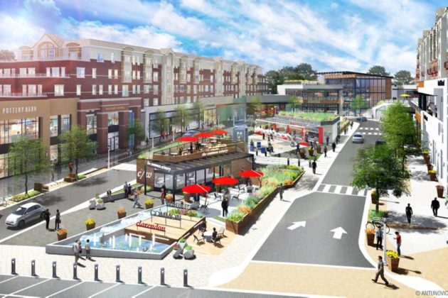 A rendering of the new Market Common (image via Antunovich Associates)