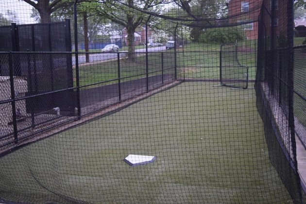 A new batting cage