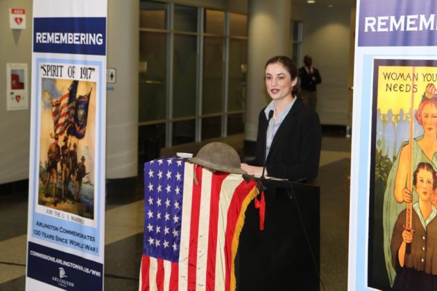 Dr. Allison Finkelstein, chair of the county's WWI task force