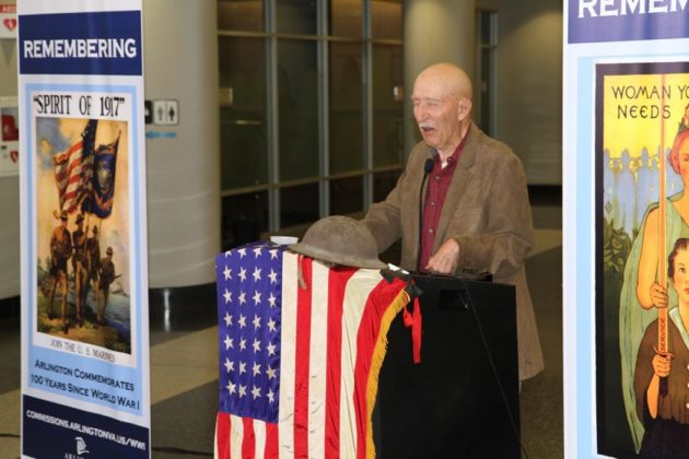 Ed Bearss, chief historian emeritus at NPS, gave the keynote address