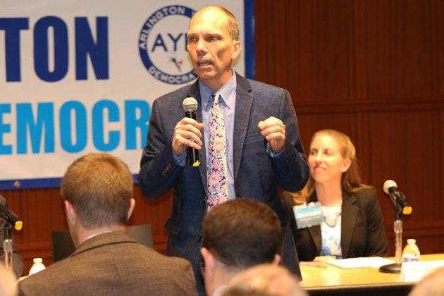 County Board candidate Erik Gutshall