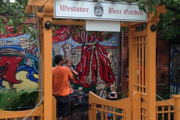 Westover Beer Garden (photo via Facebook)