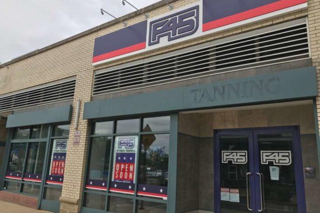 F45 fitness studio in Pentagon Row