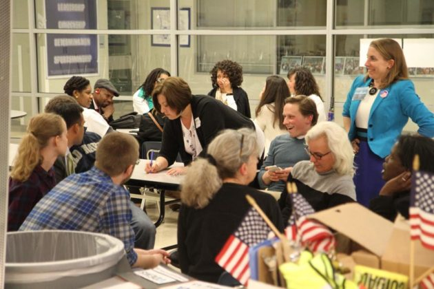 After polls closed, it was a nervous wait for candidates and volunteers