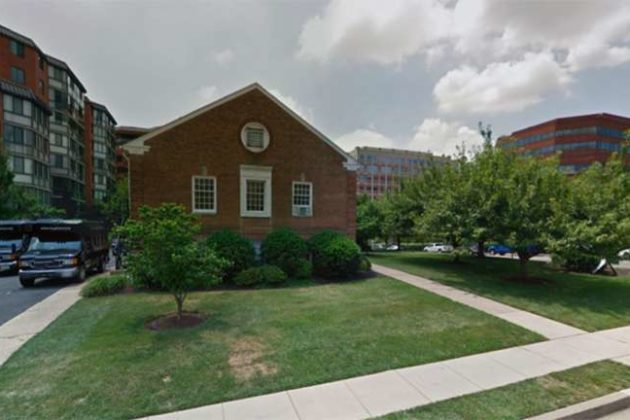 The former church at 11th Street N. and N. Vermont Street (photo via Google Maps)