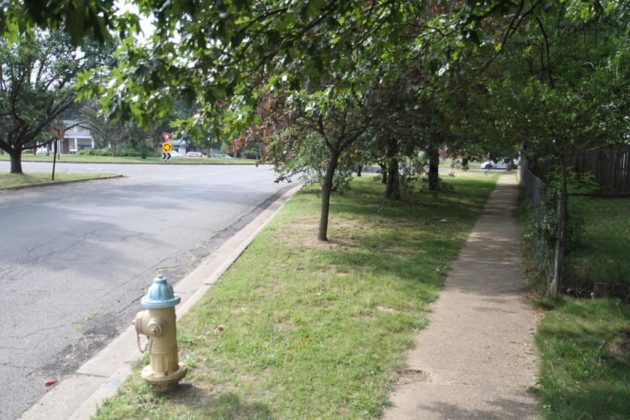 Other sidewalks would also be widened