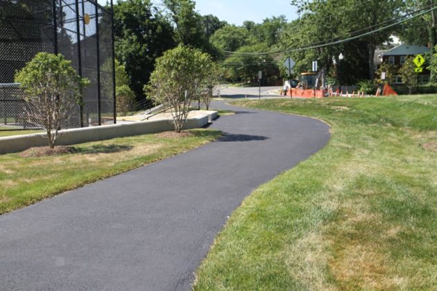 A new trail connector links to Ashlawn Elementary School