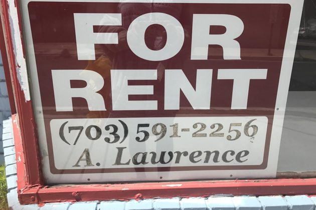 The store's space is now listed as for rent
