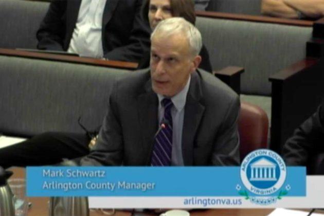 County Manager Mark Schwartz