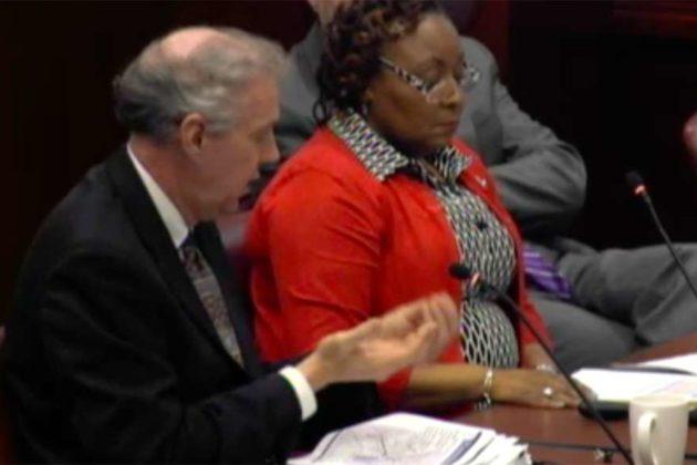 County transportation director Dennis Leach