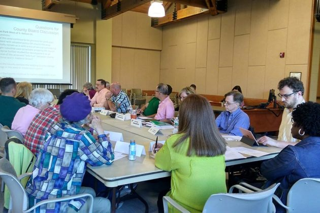 The Four Mile Run Valley Working Group met Tuesday night