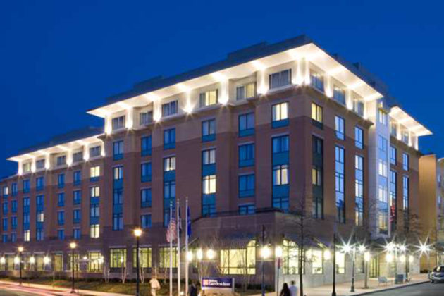 The Hilton Garden Inn in Shirlington is set for major renovations (courtesy photo)