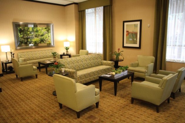 The hotel's lobby will get a refresh, including new furniture